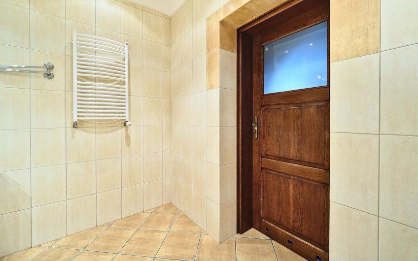 Mieszkanie w stylu rustykalno – loftowym.
